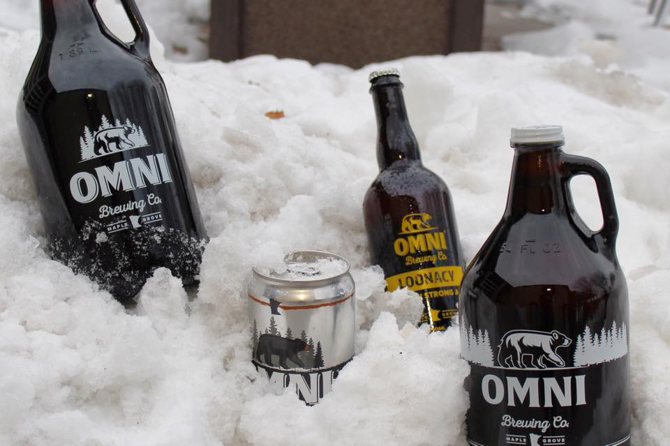 OMNI Brewing's Loonacy // Photo via OMNI Brewing Company Facebook