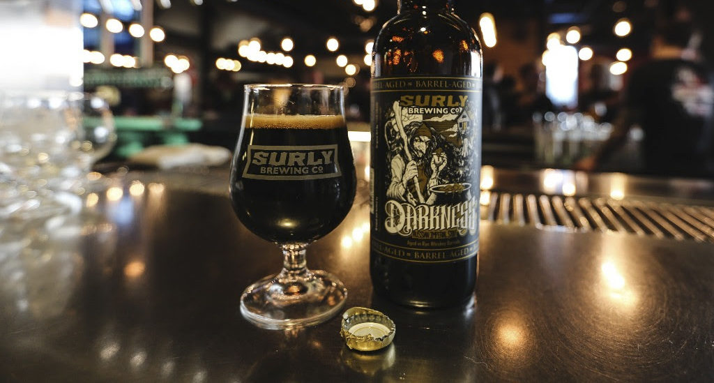 Surly Barrel-aged Darkness is here // Photo courtesy of Surly Brewing Company