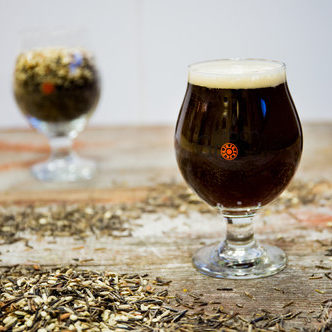 Urban Growler Wild Rice Brown Ale // Photo via Urban Growler Brewings website