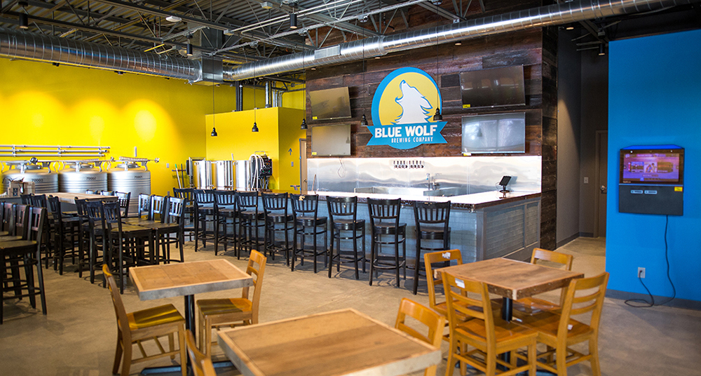 Now Open (Or Damn Close): Blue Wolf Brewing Company
