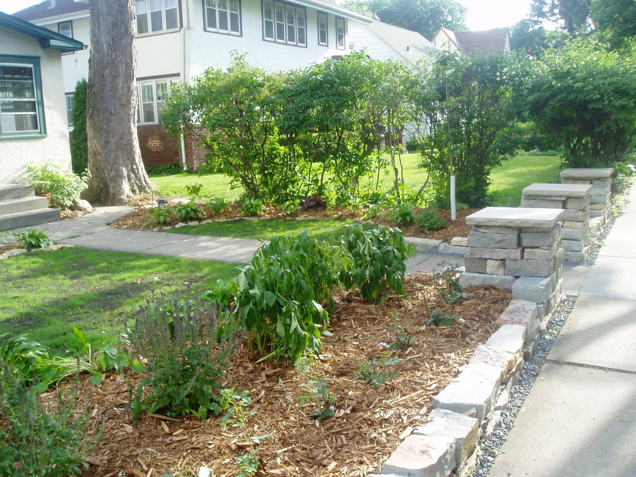 edible landscaping in the city
