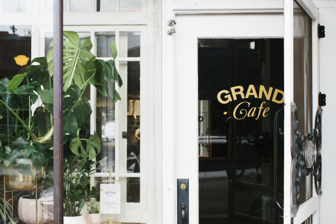 Grand Cafe in South Minneapolis // Photo by Wing Ta