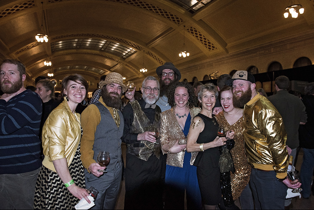Dangerous Man Brewing Company won the Best Dressed award at the 2018 Winterfest // Photo by Madalyn Rowell