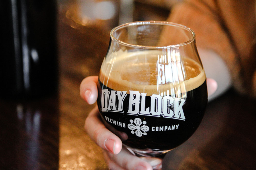 Day Block Brewing Company's Barrel Aged Russian Imperial Stout // Photo via Day Block Brewing Company