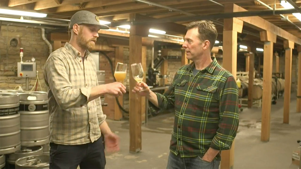 Joseph Alton and Erik Stolhanske talk about brewing, Super Troopers 2, and maple syrup // Photo still from video shot by MPLS Film Co.