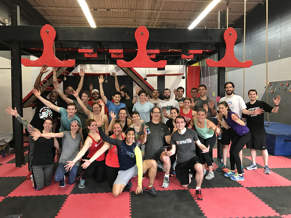 Ninja's at their secret training facility, called Five Star Ninja Warrior // Photo courtesy Five Star Ninja Warrior