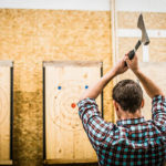 Let Your Id Out: Axe throwing and other badass activities