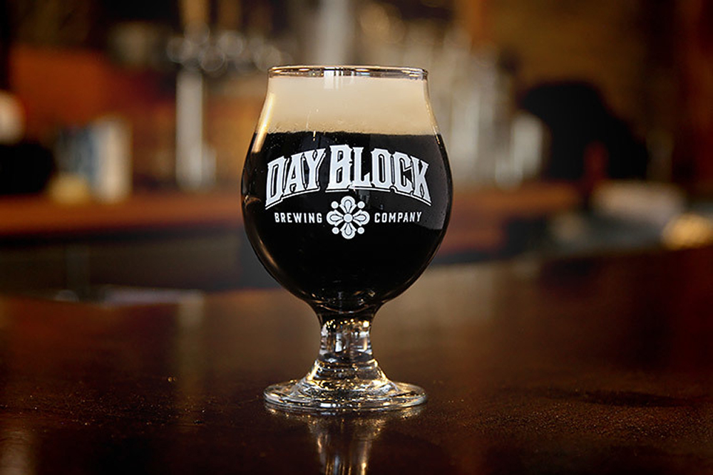 Day Block is celebrating its anniversary with a barrel-aged Russian imperial stout // Photo via Day Block Brewing Companys website