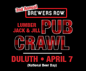 Fitger's Brewhouse Pub Crawl April 2018 Tile