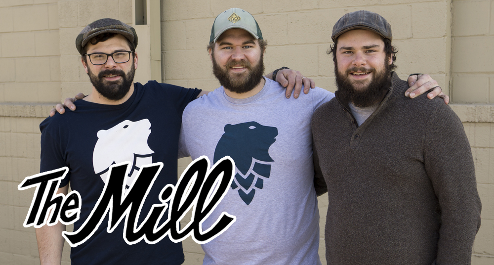 From left to right, Ben Hugus, Co-Founder and COO, Andrew Scrignoli, General Manager, and Mark Hugus, Co-Founder and Head of Brewing Operations // Photo courtesy Mark Hugus