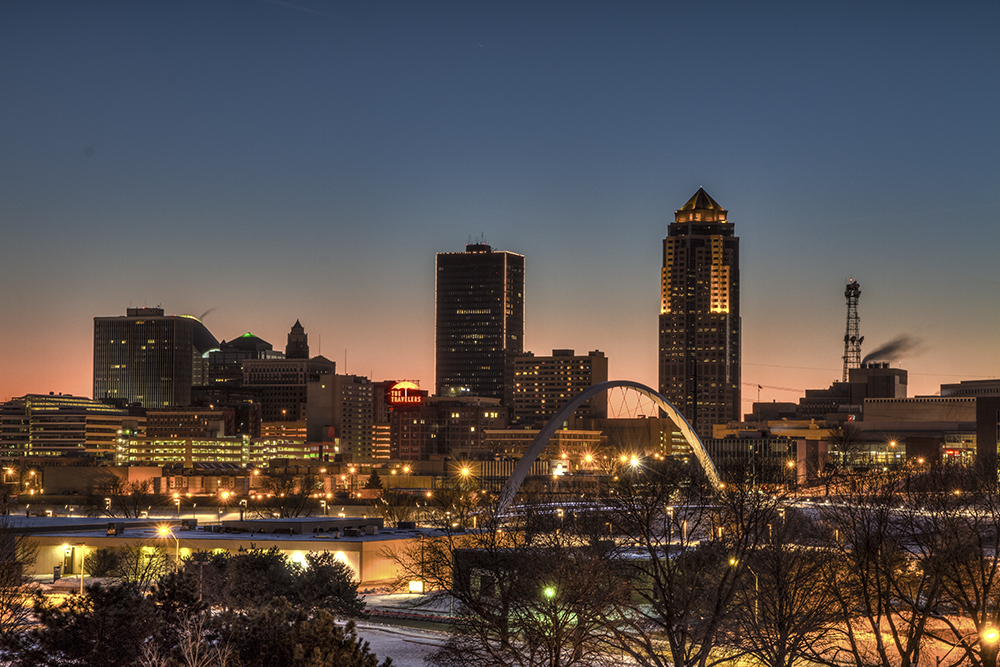 Des Moines, Iowa // Photo by Jason Mrachina, Flickr