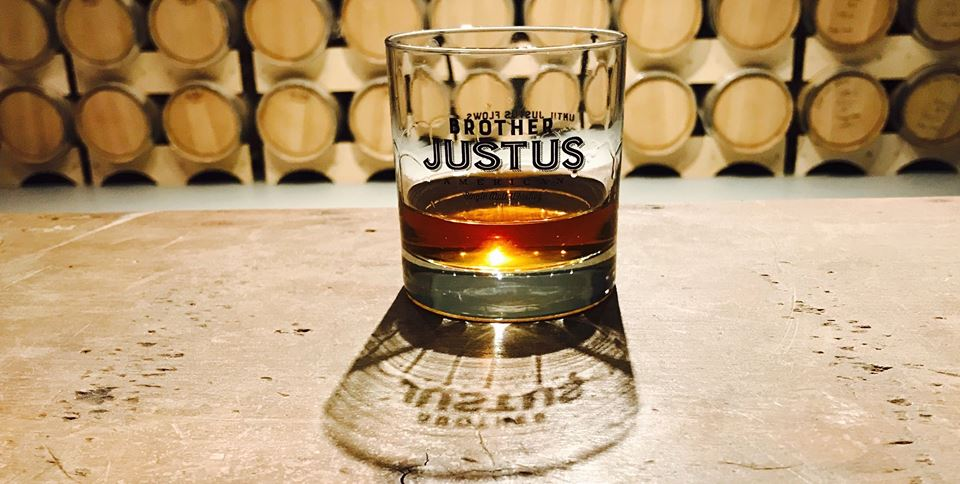Brother Justus whiskey // Photo via Brother Justus Whiskey Facebook