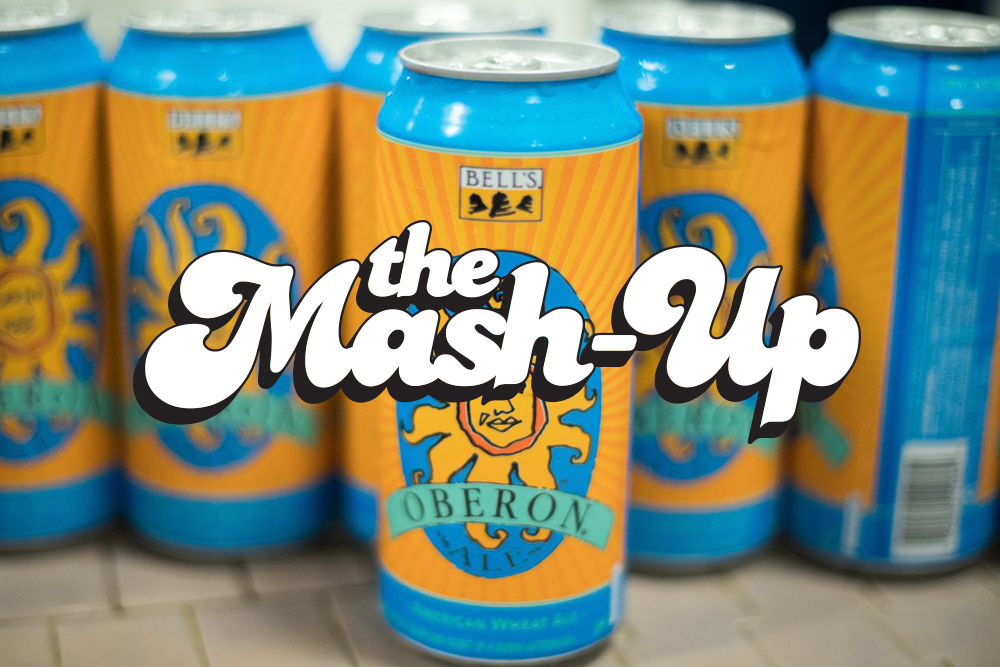 Bell's Oberon is back // Photo via Bell's Brewery's Twitter