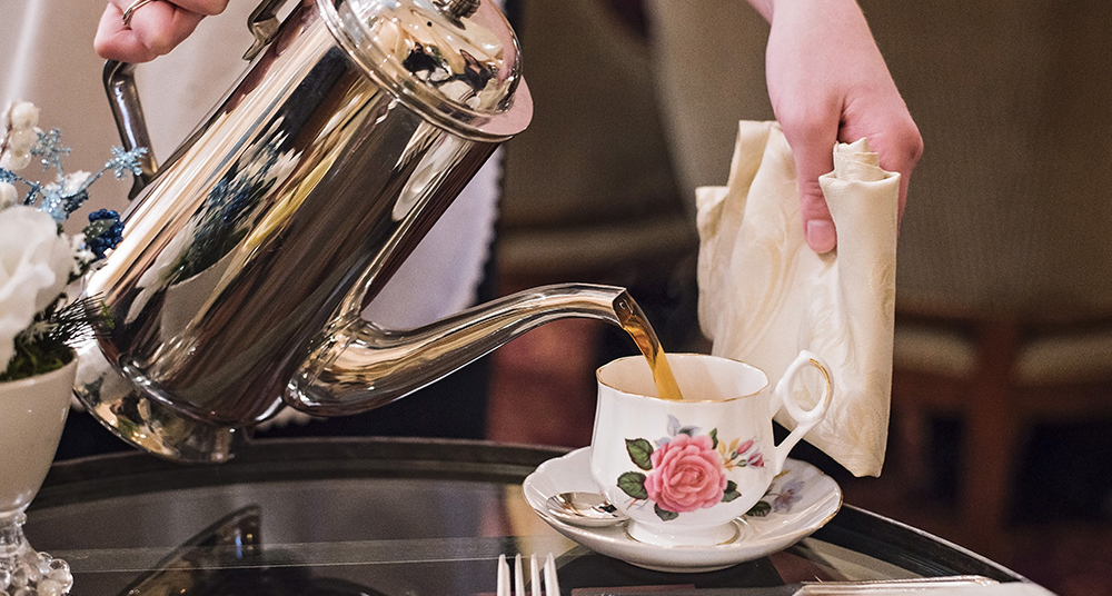 Afternoon tea at Saint Paul Hotel is a Victorian-style happy hour