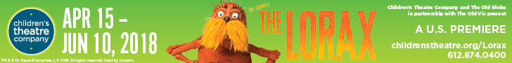 Children's Theatre Company Lorax April 2018 Banner
