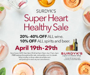 Surdyk's Super Heart Healthy Sale April 2018 Tile