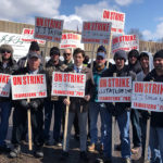 Beer delivery drivers, warehouse workers strike distributor J.J. Taylor