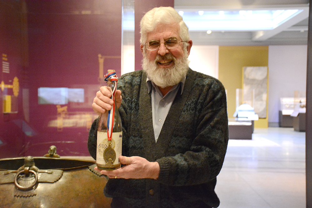 Brewing Relics: Archaeologist Patrick McGovern uncovers the