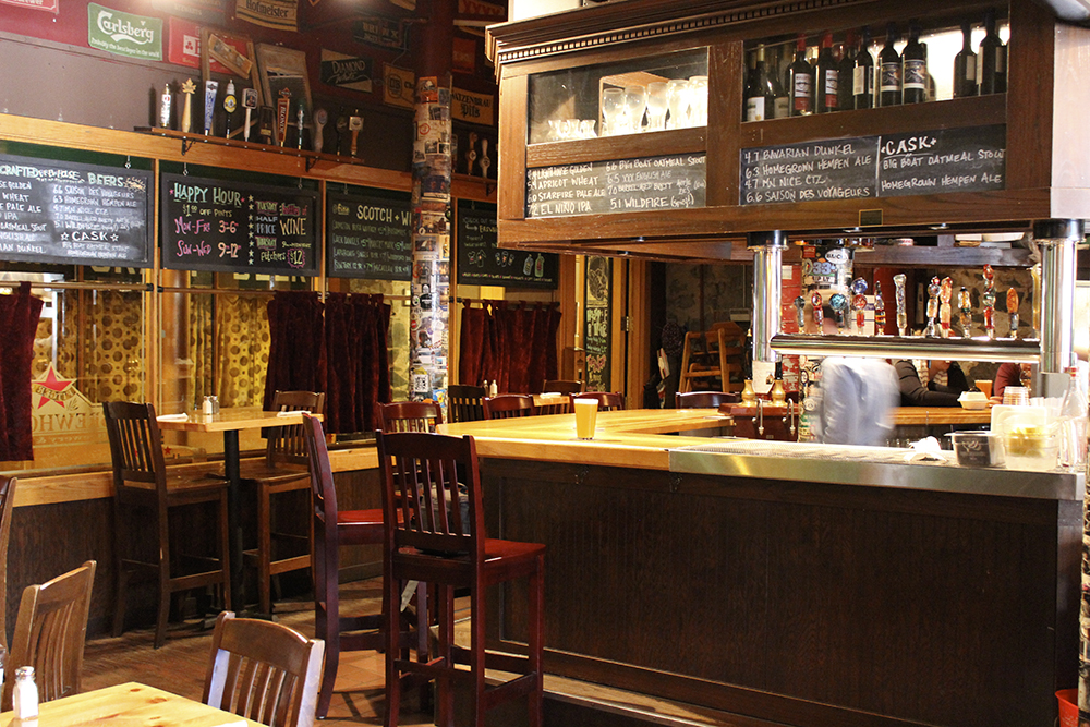 Fitger's Brewhouse in Duluth is one of Minnesota's oldest brewpubs // Photo by Melissa Maki