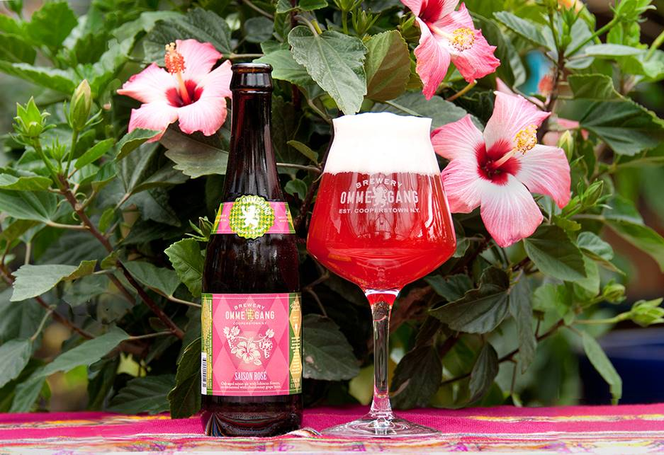 Brewery Ommegang Saison Rosé // Photo courtesy Brewery Ommegang