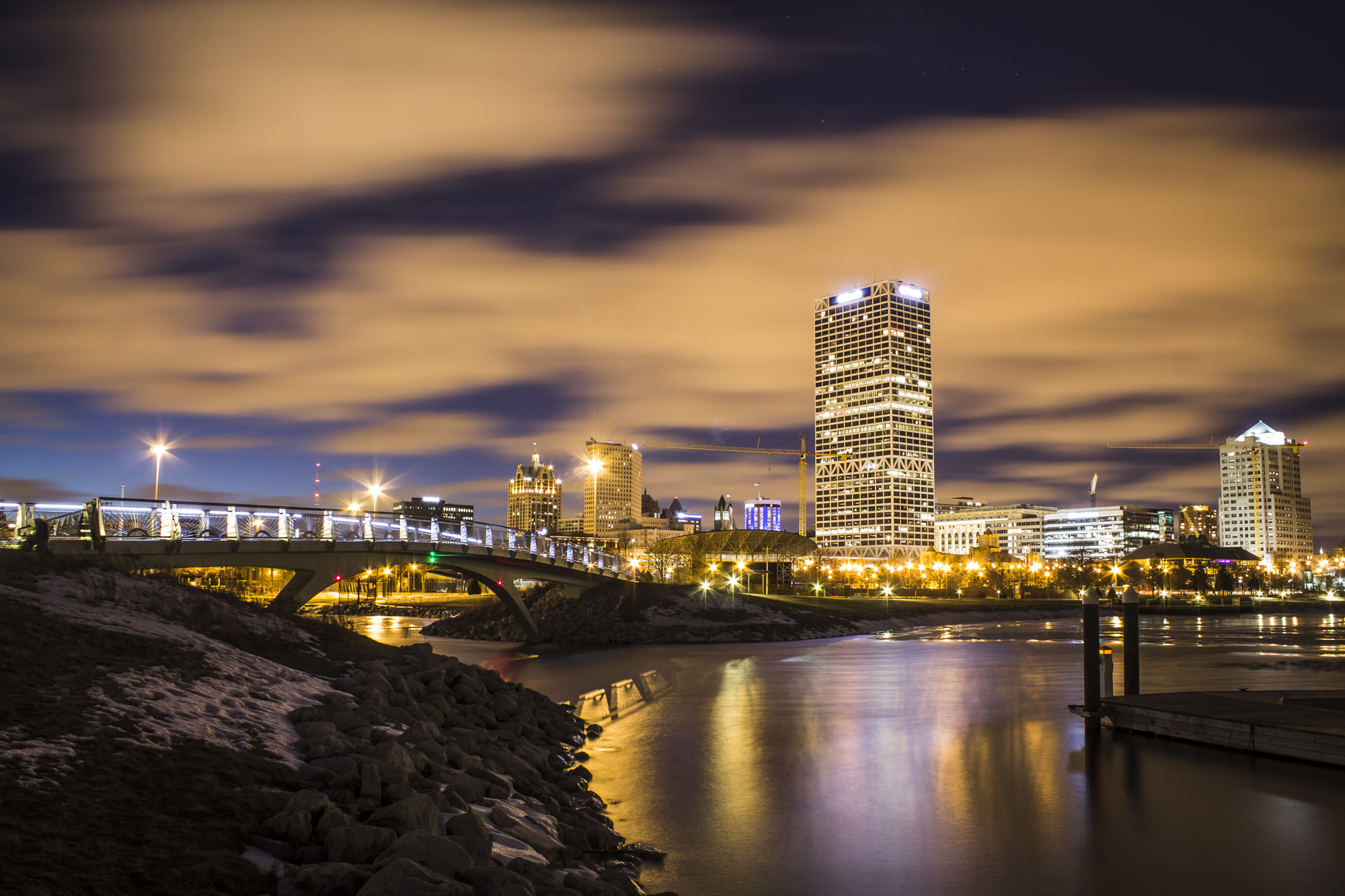 "The Milwaukee skyline // Photo by Olsonj, <a href=""https://www.flickr.com/photos/olsonj/18448805340"" target=""_blank"" rel=""noopener"">Flickr</a>"