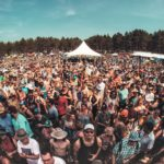The crowd at the 2017 Blue Ox Music Festival // Photo via Blue Ox Music Festival Facebook