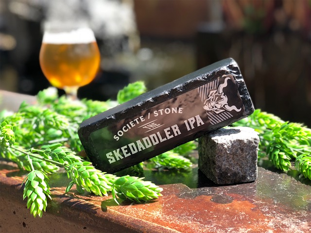 The Skedaddler IPA // Photo courtesy Stone Brewing Company