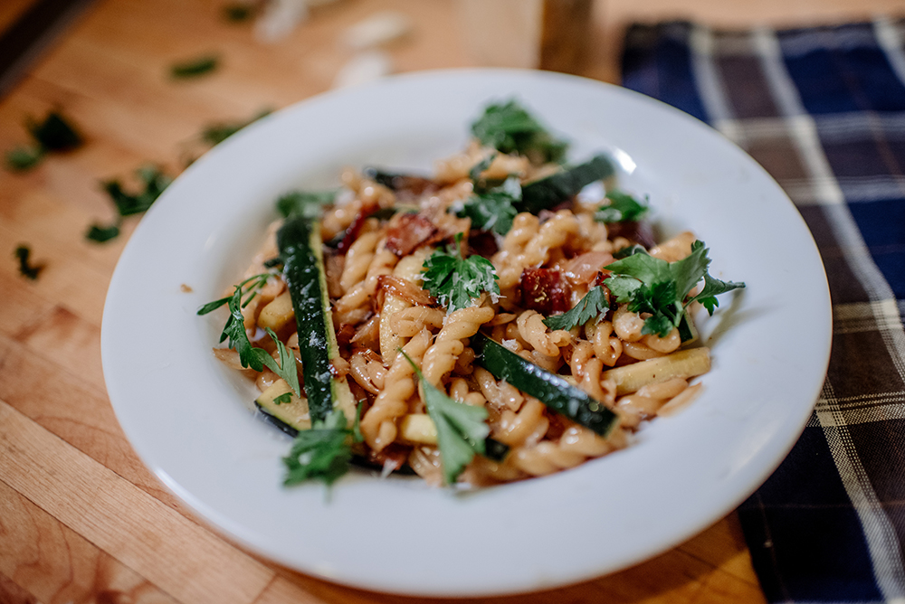 Pasta Contadina // Photo by Becca Dilley
