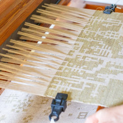 Black Cat Farmstead: Farm-to-loom art