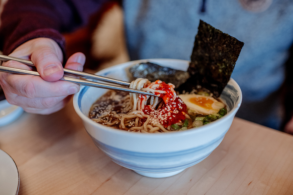 Martha's Daughter shiitake ramen // Photo by Becca Dilley
