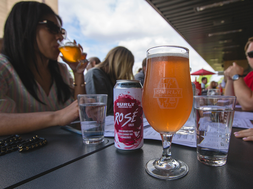 Surly Brewing Company's Rose // Photo courtesy Surly Brewing Company