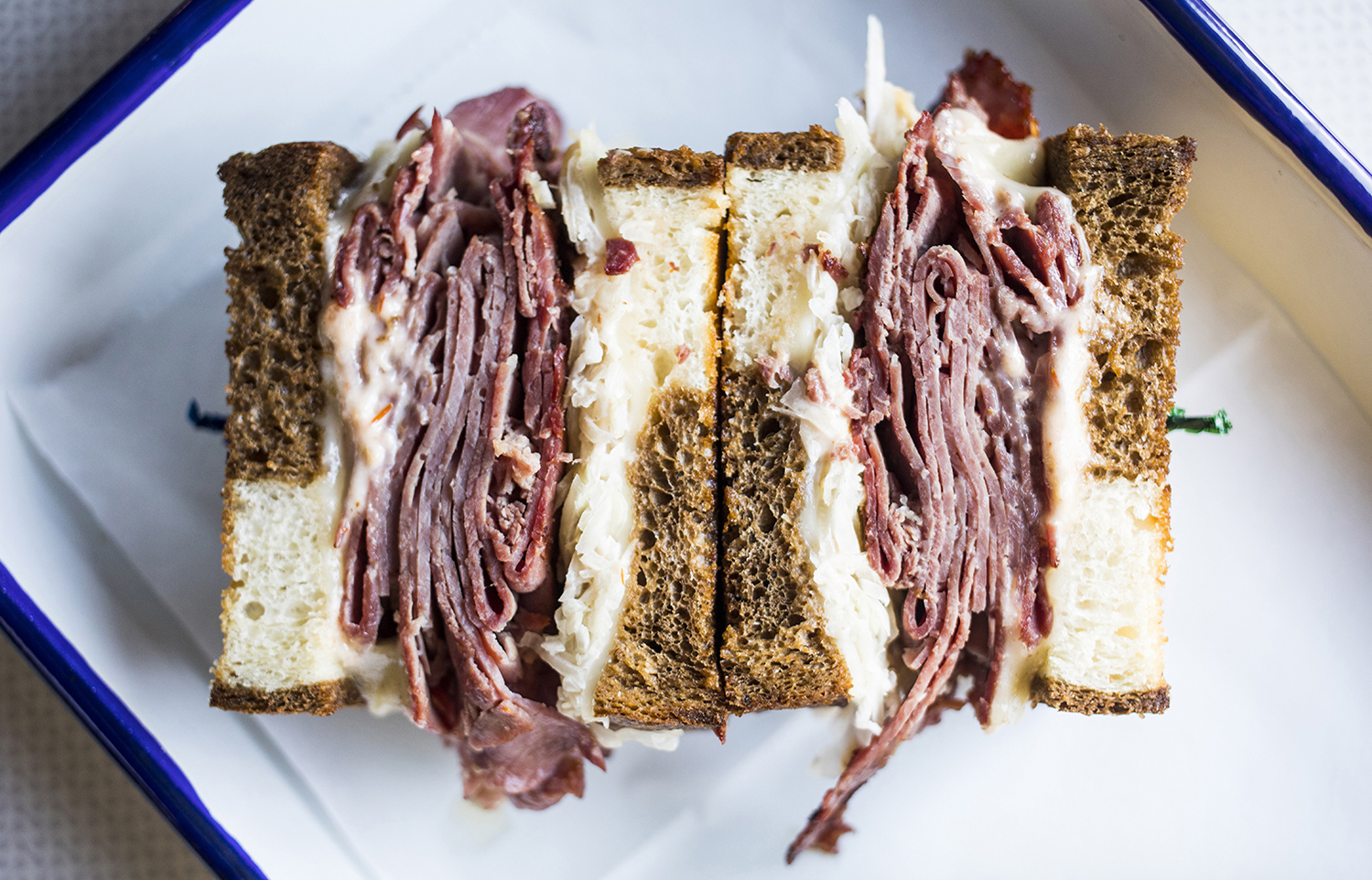 Meyvn's Reuben sandwich // Photo by Tj Turner