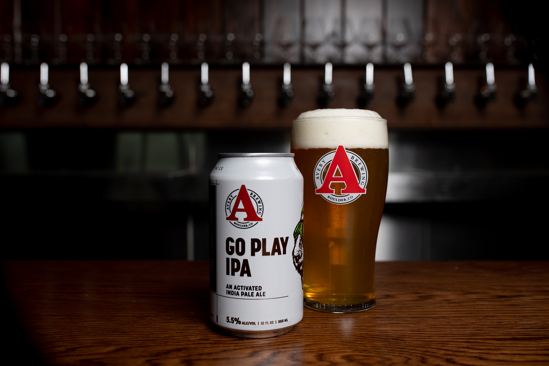 Avery Brewing Company's Go Play IPA // Photo courtesy Avery Brewing Company