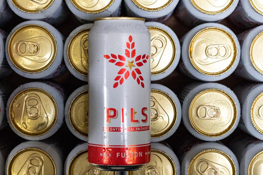 Fulton Brewing Company's Pils // Photo courtesy Fulton Brewing Company