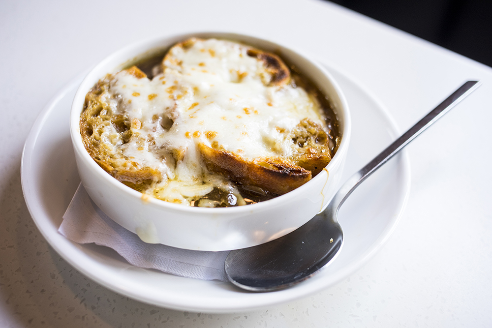 French Onion Soup // Photo by Tj Turner