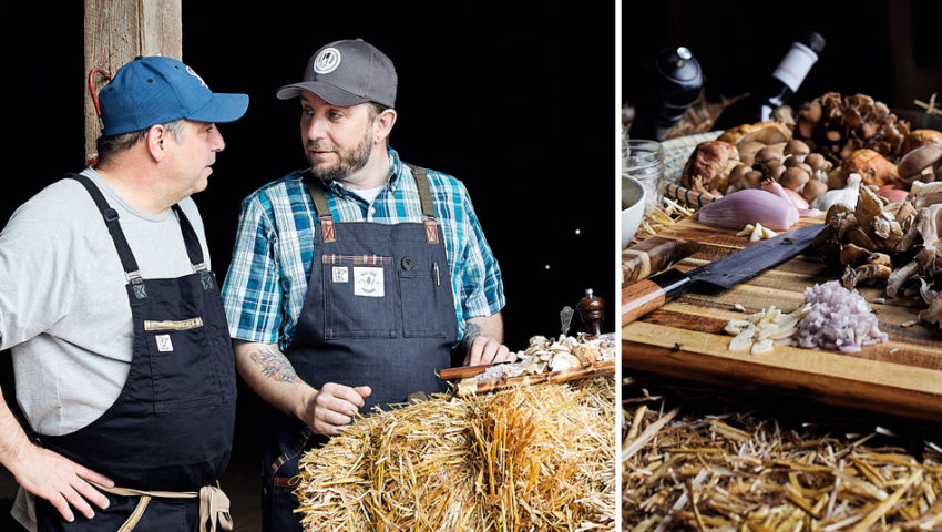 Taste of the Country, On an Urban Table: Lenny Russo and Daniel Cataldo of ninetwentyfive