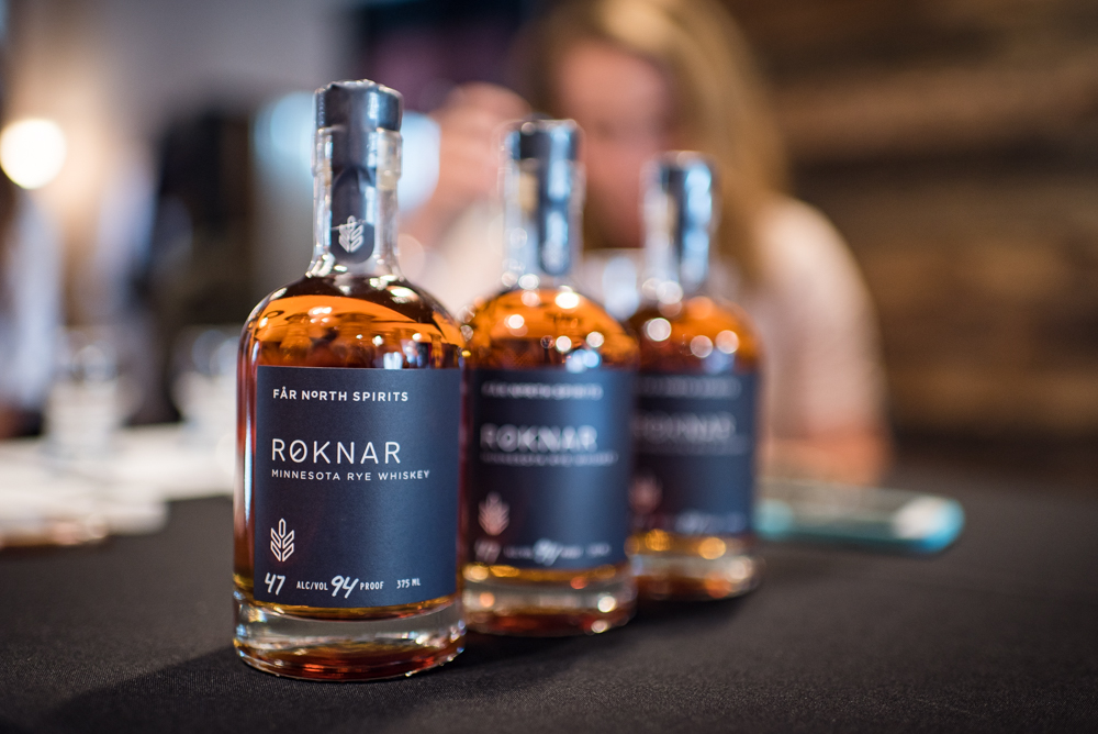 Far North Spirits' Rocknar Minnesota Rye Whiskey // Photo by Kevin Kramer