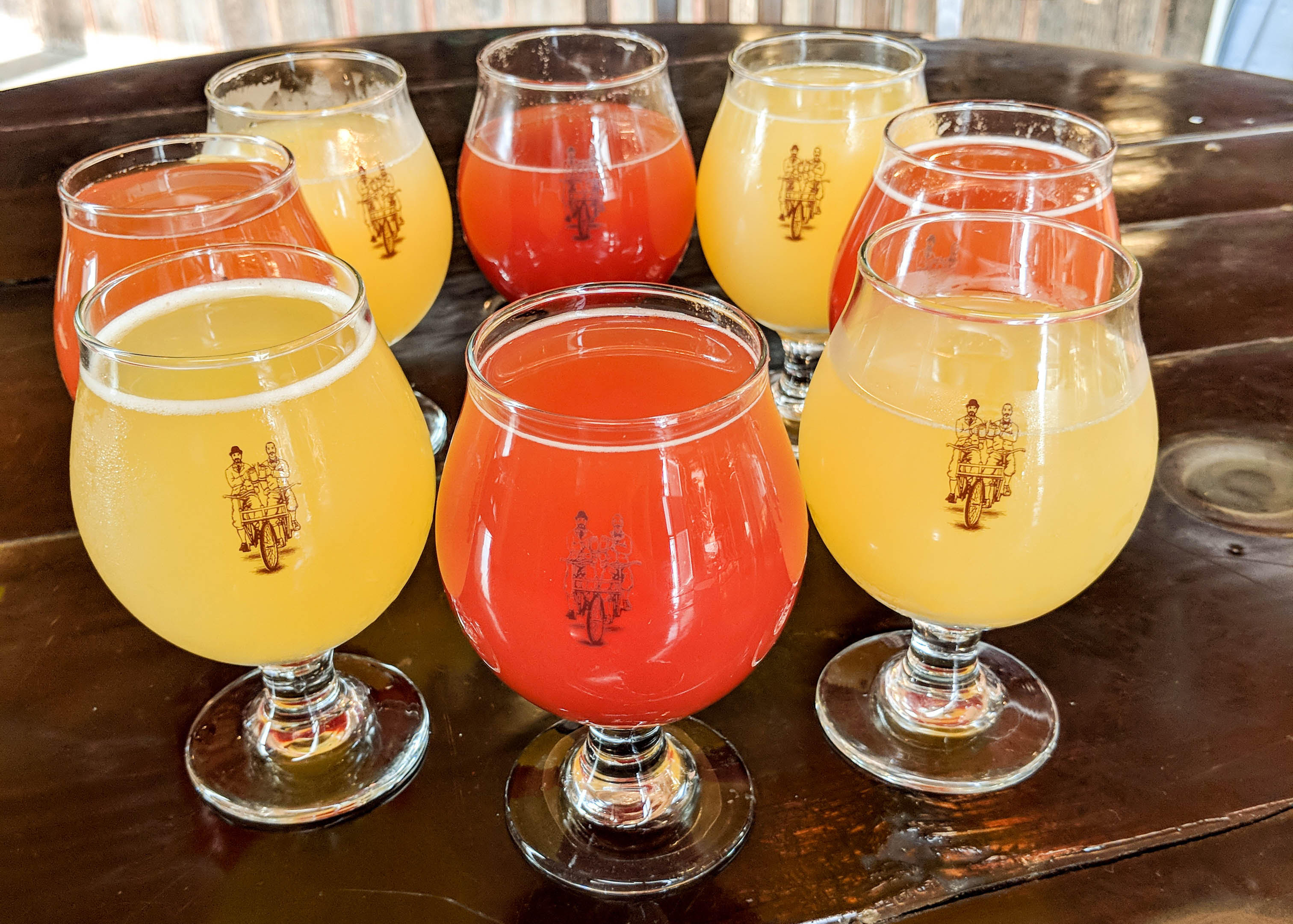 Sociable Cider Werk's Mimosas // Photo courtesy Sociable Cider Werks