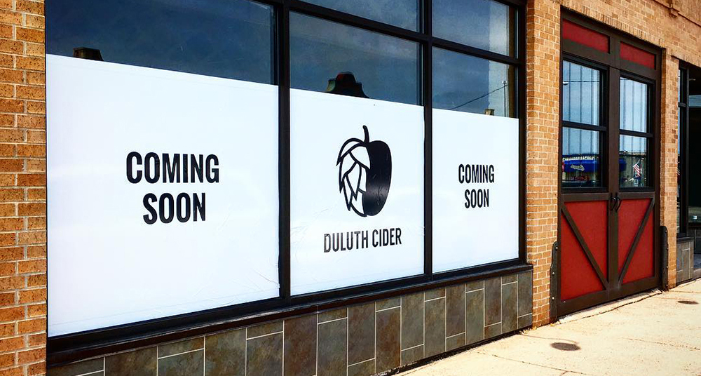The future home of Duluth Cider in the Lincoln Park Neighborhood in Duluth, Minnesota // Photo courtesy Duluth Cider