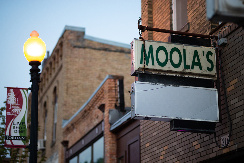 Moola's in downtown Jordan // Photo by Harrison Barden