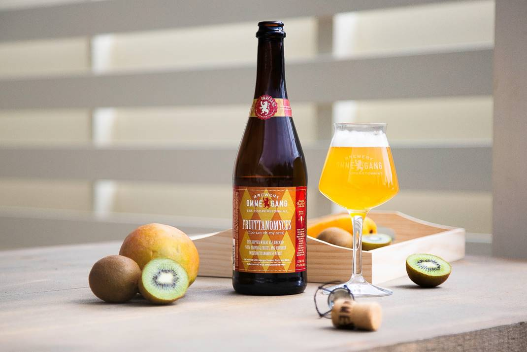 Brewery Ommegang's Friottanomyces // Photo courtesy Ommegang Brewing Company