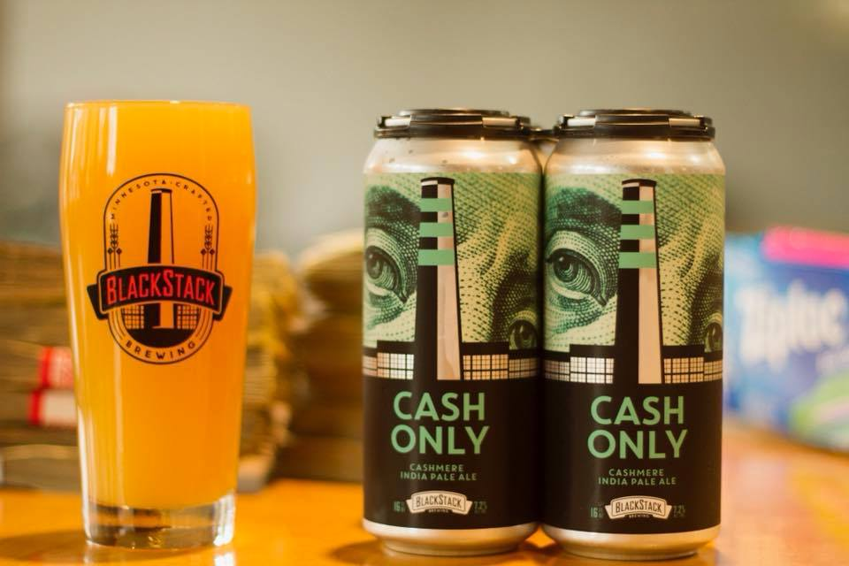 BlackStack Brewing Company's Cash Only // Photo via BlackStack Brewing Company's Facebook