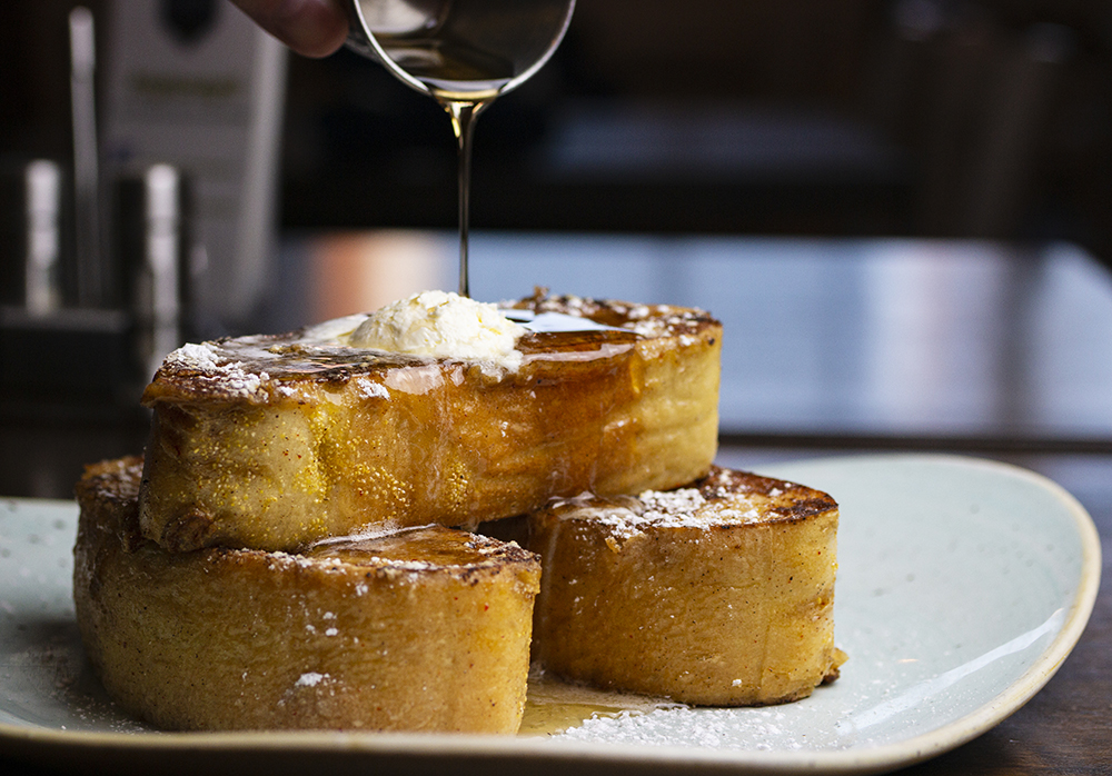 The French Toast at Highland Grill // Photo by Aaron Job
