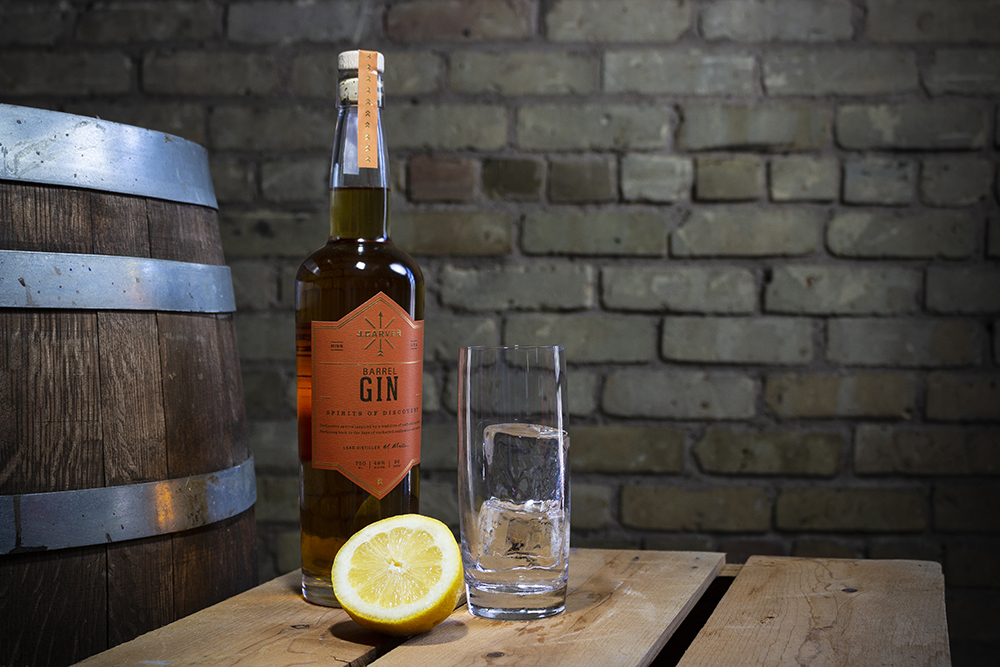 J. Carver's Barrel Gin // Photo by Aaron Job