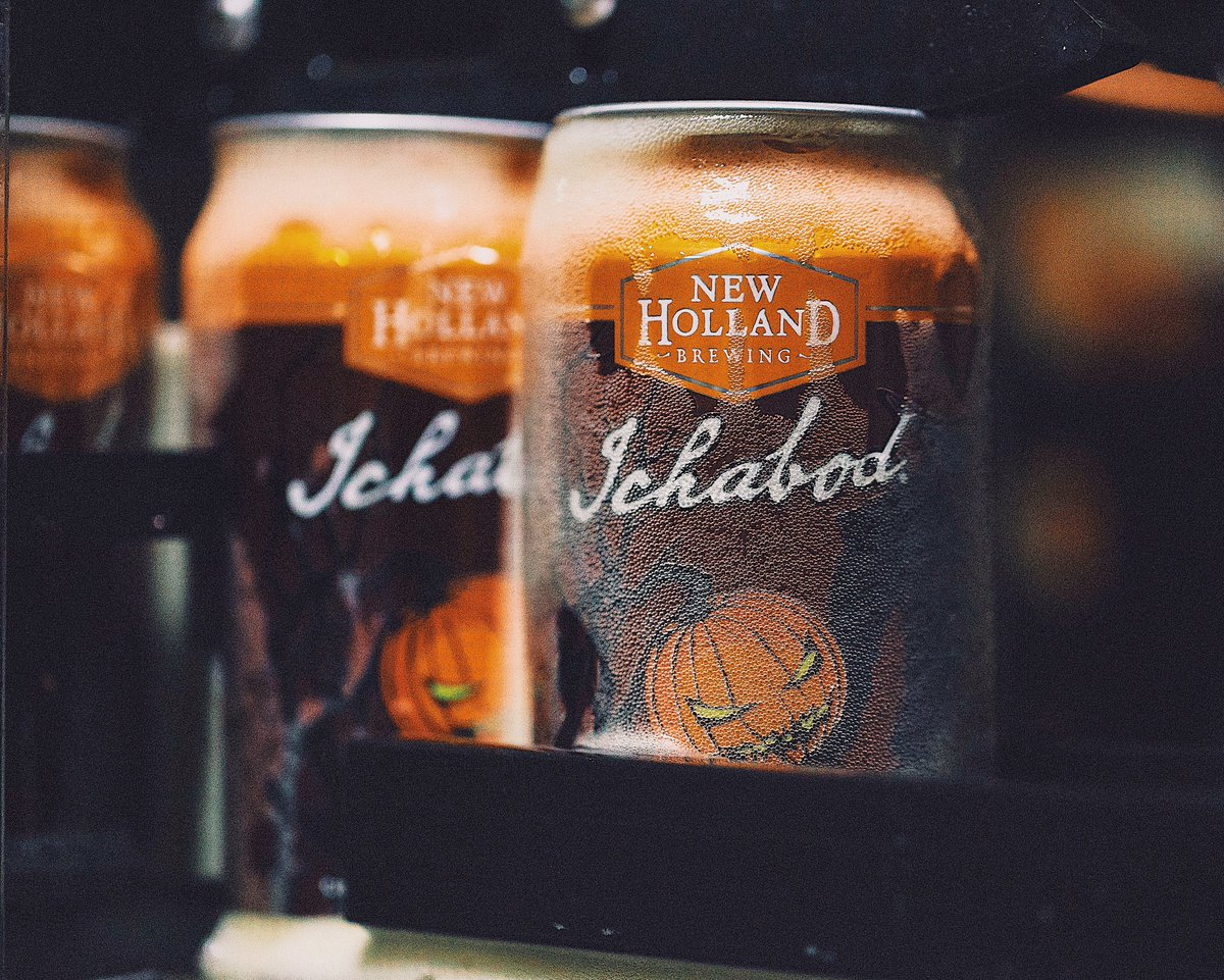 New Holland Brewing Company's Ichabod // Photo via New Holland Brewing Company Twitter