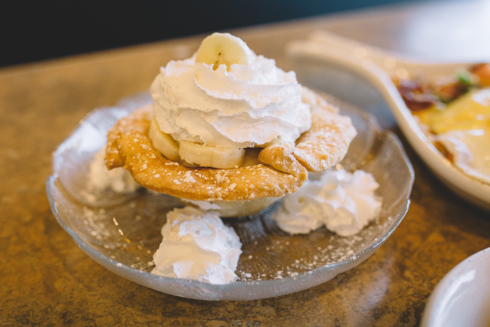 Banana Cream Pie at Ricky's Embers in Fridley // Photo by Sam Ziegler