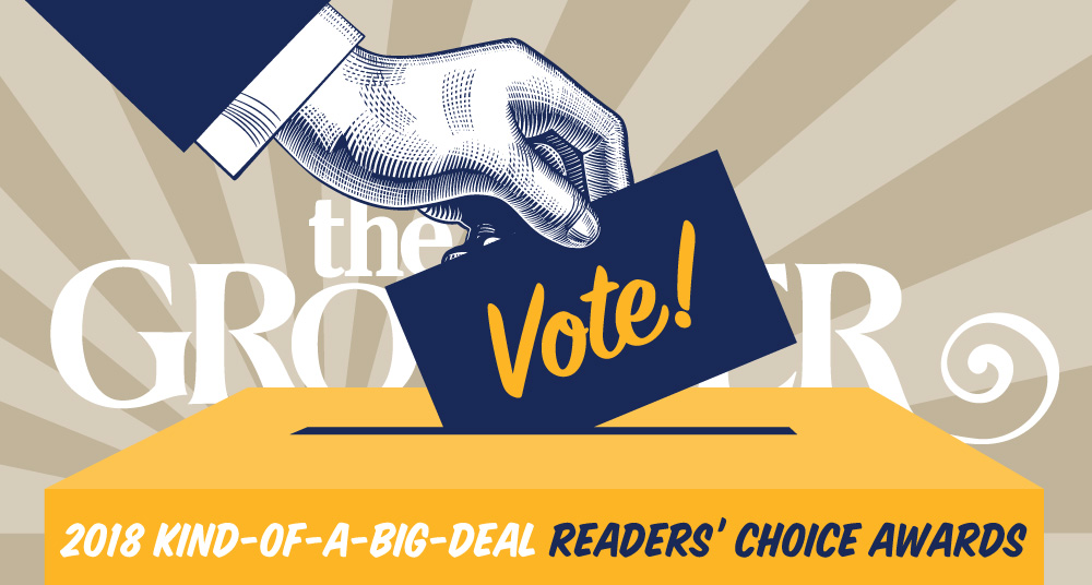 Vote for the 2018 Kind-of-a-Big-Deal Readers' Choice Awards