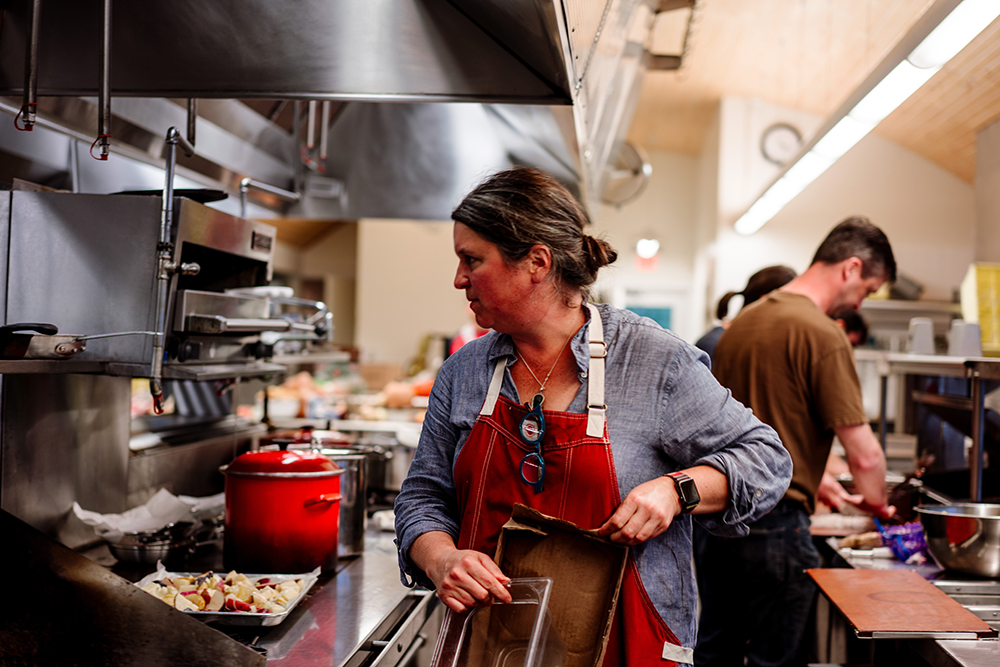 Chef Mary Dougherty // Photo by Becca Dilley