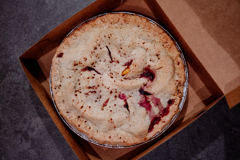 The Blueberry Peach Pie // Photo by Becca Dilley