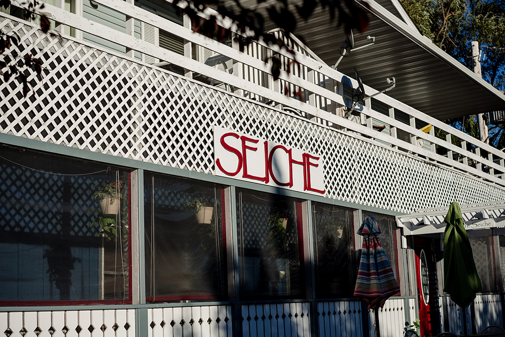 Seiche Cafe // Photo by Becca Dilley